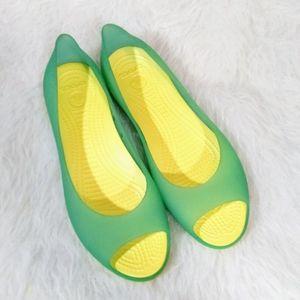 Women's Crocs Slip On Shoes Size 9 W